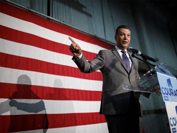 Senator Kamala Harris Rallies With Lieutenant Governor Gavin Newsom Ahead Of The California Primary