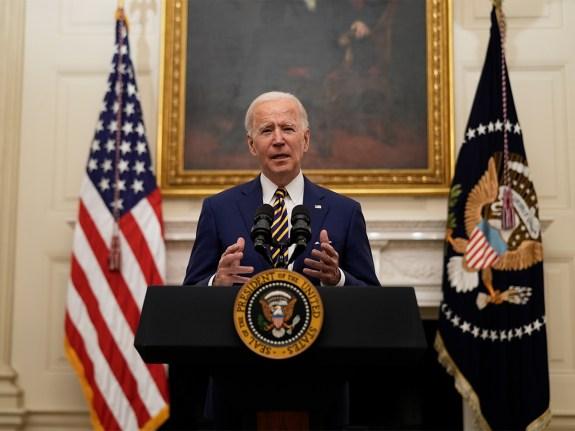 President Biden Seeks Immediate Help For Millions As Big Stimulus At Risk