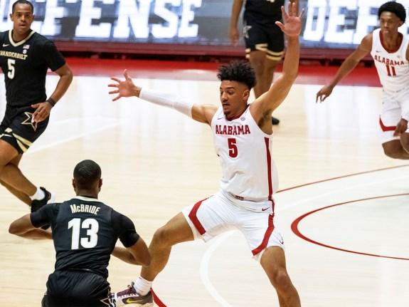 Vanderbilt Alabama Basketball