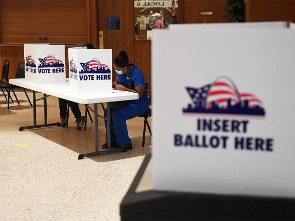 Missourians Vote In 2020 Primary Election