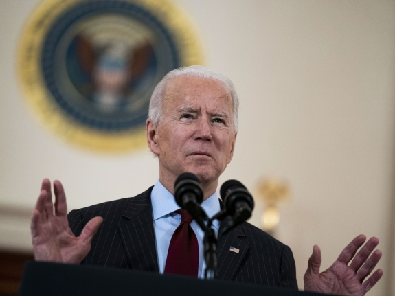 President Biden Delivers Remarks On Lives Lost To Covid-19