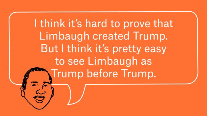 How Rush Limbaugh Shaped The GOP 1