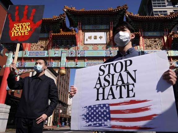 Rally Held In Washington, DC For Collective Safety To Protect Asian American Community