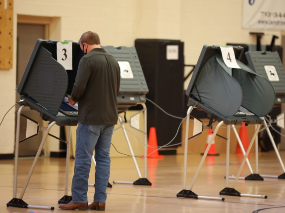 Texas Residents Cast Ballots For 2020 U.S. Presidential Election