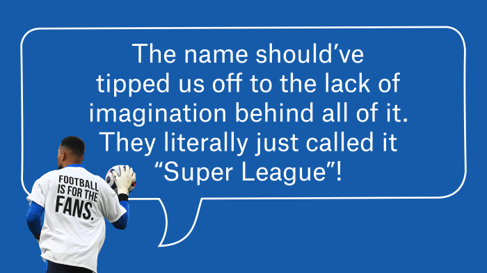 The Super League Was The Wrong Solution To A Real Problem