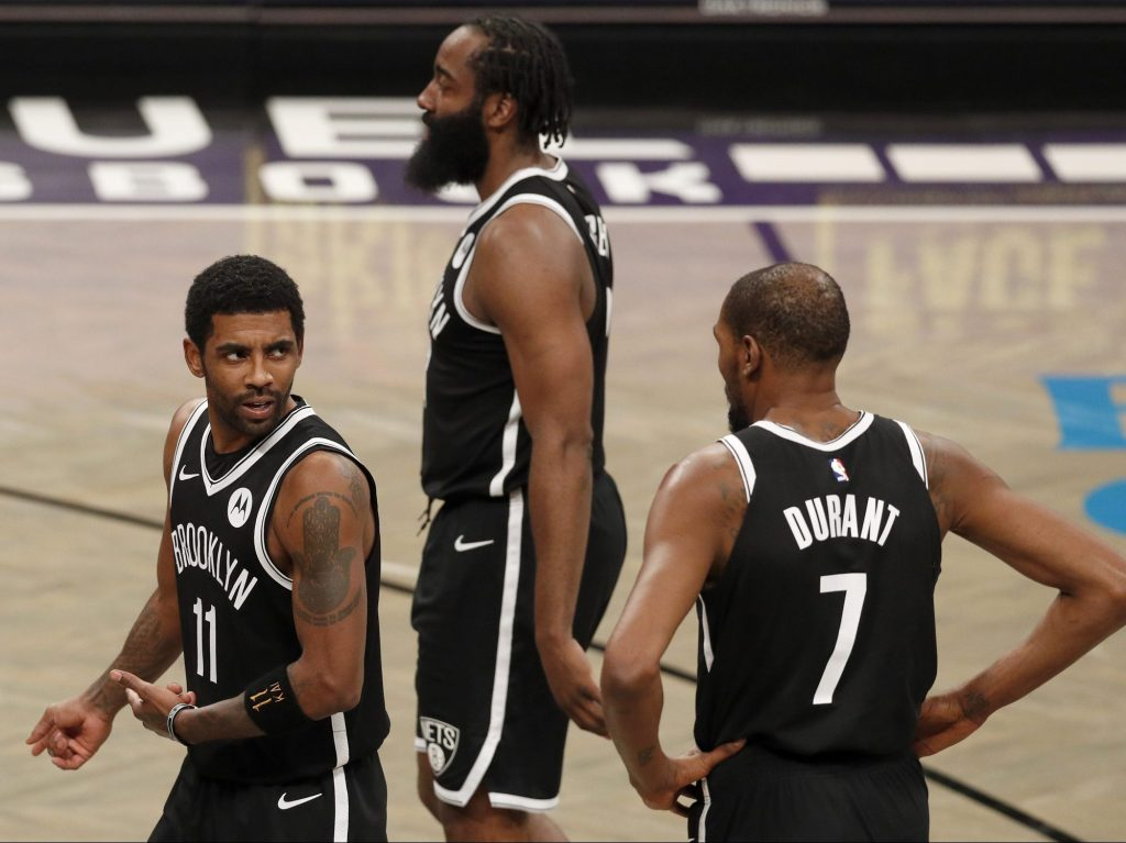 Kyrie, KD And Harden Have Barely Played Together. Is That A Problem For The Nets? | FiveThirtyEight