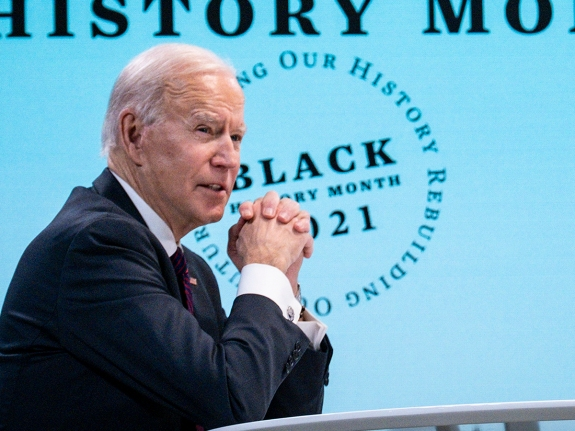 President Biden Holds Roundtable Discussion With Black Essential Workers