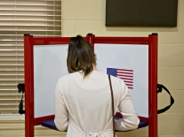 Voters Cast Ballots In The Kentucky Primary Election