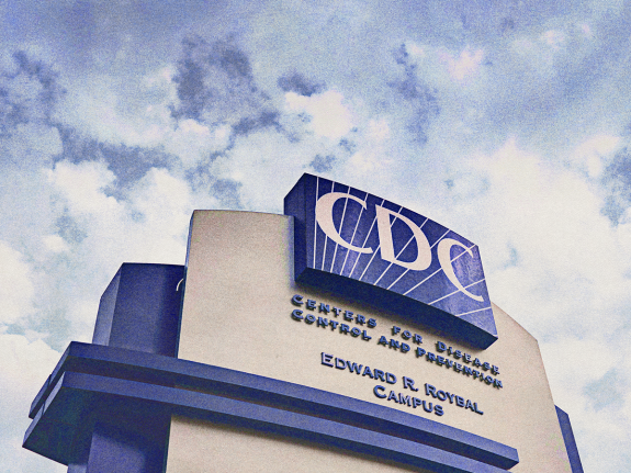 Sign for the Centers for Disease Control and Prevention Headquarters