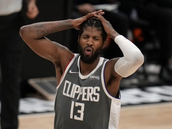 Phoenix Suns defeated the LA Clippers 84-80 during game four of a Western Conference finals NBA playoff basketball game.