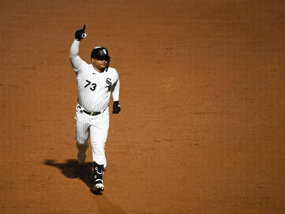 Yermin Mercedes of the Chicago White Sox