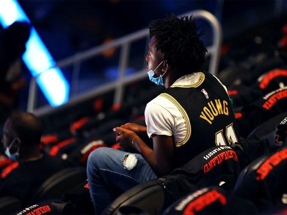 New York Knicks v Atlanta Hawks – Game Four