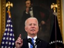 President Biden Speaks On The American Rescue Plan At White House