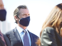Gov. Newsom Holds News Conference On California Assault Weapons Ban Case