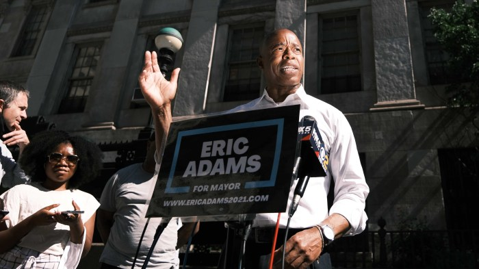Eric Adams' leadership in the New York mayoral primary was too great to surpass