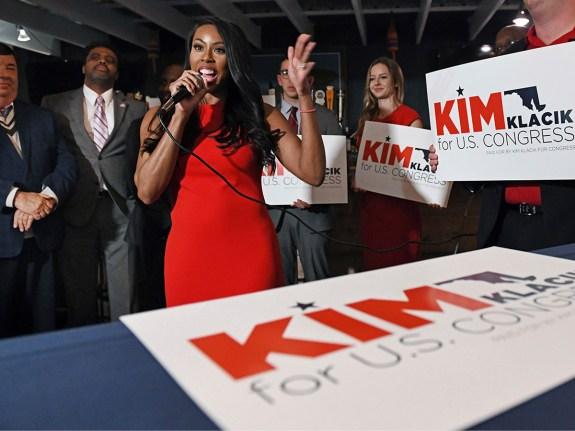 Republican Kim Klacik