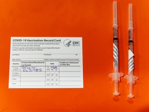 Holy Name Medical Center Administers Covid-19 Vaccine To Group 1B