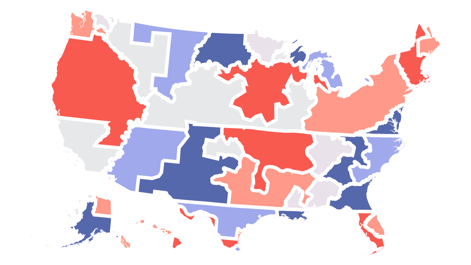 What redistricting looks like in each state