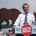 Vice President Kamala Harris Joins California Governor Gavin Newsom In Campaigning Against Recall Effort